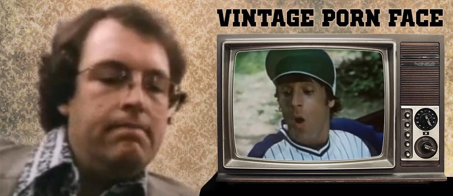 Vintage 70's Porn Face