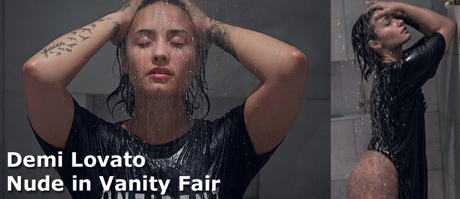 Demi Lovato Nude in Vanity Fair