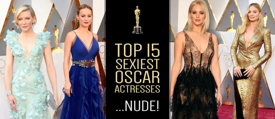 PDC-Top 15 Sexiest Oscar Actresses...Nude