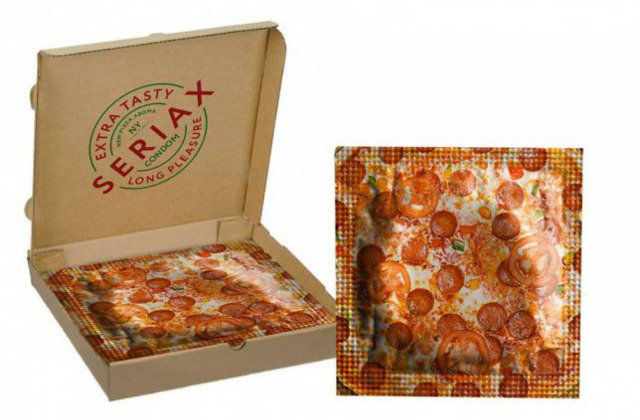 Pizza Flavored Condom