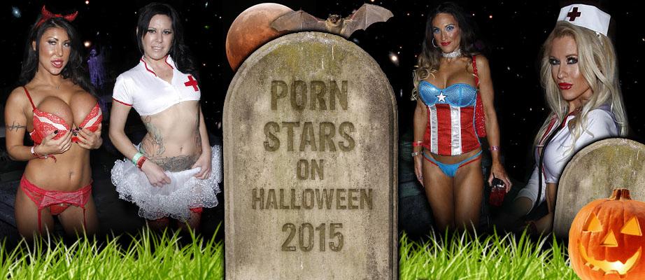 Porn Stars on Halloween