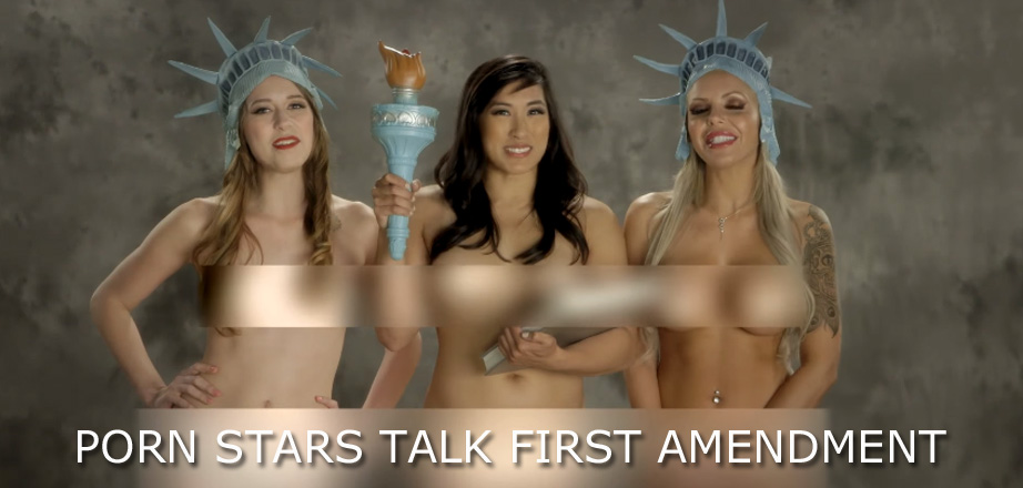 Porn Stars Talk First Amendment