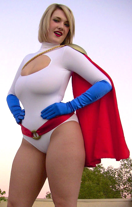 siri as powergirl