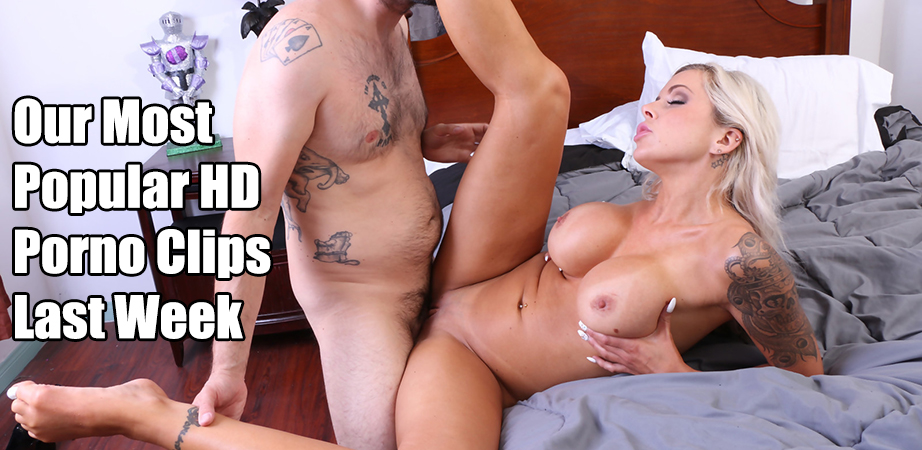 Our Top Ten HD Porn VIds Last Week - May 14, 2018