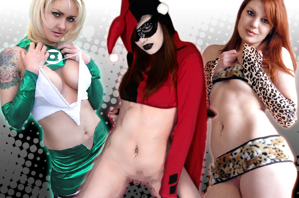 Hot nude Cosplay Girls